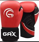 Boxing Gloves Punch Bag Training MMA Muay Thai Fight Sparring Pads Wraps RED