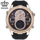 SMAEL Luxury Brand Men Analog Digital 5Bar Sports Watches Mens Army Military