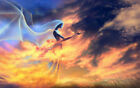 Canvas Print Fantasy Abstract girl Angel Painting Poster Art Wall Home Decor