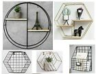 Wire Metal Wall Mounted Storage Basket Letter Magazine Rack Organiser Free Stand