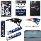 NFL New England Patriots Premium Vinyl Decal / Sticker / Emblem - Pick Your Pack on eBay