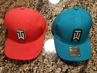 Nike Golf TW Tiger Woods Ultralight Tour Cap Red 726291 696 Blue Hat 845579 467