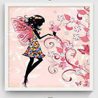 Unframed Flower Fairy Modern Wall Art Canvas Painting Picture Home Decor Mural