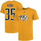 Pekka Rinne Nashville Predators Reebok Name and Number Player T-Shirt - Gold on eBay