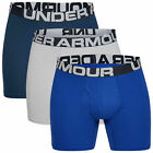 Under Armour Men's Boxer Brief UA Charged Cotton Boxerjock 6in 3 Pack 1327426