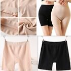 Women Elastic Safety Pure Color Under Shorts Leggings Render Pants Seamless