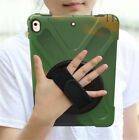 360° Rotating Stand Hand Strap Hard Cover Case For iPad mini 1/2/3/4/ Air/ Pro