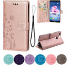 Premium PU Leather Butterfly Print Flip Wallet Case For Huawei P Smart P20 Cover