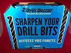 NEW Drill Doctor 500XC Drill Bit Sharpener Set Point Angles at 118°
