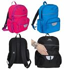 Trespass Swagger Kids School Bag Reflective Rucksack with Padded Straps