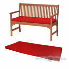 Outdoor Waterproof 2 Seater Bench / Swing Seat Cushion ONLY Garden Furniture Pad