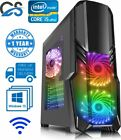 Ultimate Gaming Pc Customise Computer Intel Cpu I5 Ssd Hdd 16 Gb Ram Windows 10