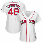 Pablo Sandoval Boston Red Sox Majestic Women's Cool Base Player Jersey - White