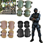 Adjustable Airsoft Tactical Combat Protective Knee Elbow Pad Protector Gear