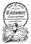 Furniture Glass Decal Image Transfer Vintage Antique French Labels Mask Costumes