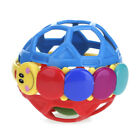 Baby Plastic Rattle Shake Ball Bell Kids Educational Xmas Gift Bendy Ball Toy W
