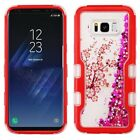 Samsung Galaxy S8 / S8 PLUS Quicksand TUFF HYBRID Protector Cover + Screen Guard