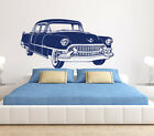 Cool Retro VW Car Wall Sticker Boy Room Vintage Racing Sport