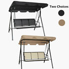 Outdoor Canopy Swing Chair 3 Seater Hammock Garden Patio Lounger Bench Seat