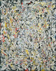 Jackson Pollock - White Light HD Print on Canvas Large Wall Picture Multisize