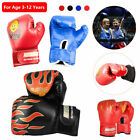 New PU Kids Boxing Gloves Cartoon Sparring Dajn Training 5.7oz For Children Gift