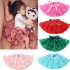 Внешний вид - Kids Girls Skirt Princess Pleated Fluffy Pettiskirt Petti Party Dance Tutu Dress