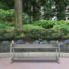 Commercial Zone Skyline Leafview Stainless Steel Picnic Bench