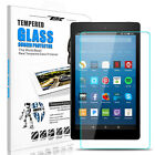 For Amazon Kindle Fire HD 8/Fire 7 7th Gen 2017 Tempered Glass Screen Protector