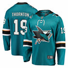 Joe Thornton San Jose Sharks Fanatics Branded Breakaway Jersey Teal