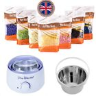 300g Hard Wax Beans Hot Wax Warmer Heater Machine For Painless Hair Removal Set