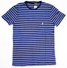 Men POLO Ralph Lauren POCKET T Shirt Crew Neck Stripes S M L XL XXL - CUSTOM FIT