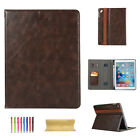 """Luxury Leather Flip Smart Case Stand Cover For iPad 5th/6th Gen 9.7""""/Air/Pro 11"""""""