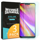 LG G7 ThinQ Ringke Screen Protector G7 [TEMPERED GLASS] Clear HD 0.33mm [3-Pack]