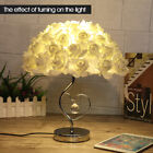 red desk lamp - LED Romantic Rose Study Desk Table Bedside Lamp Eye-Care Nightlight Home Decor