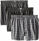Calvin Klein Mens Underwear 3 Pack Cotton Classic Woven Boxers- Pick SZ/Color.