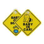 Внешний вид - Baby on Board Car Warning Safety Suction Cup Sticker Waterproof Notice Board Hot