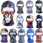 UV Sun Ultra Protection Outdoor Cycling Printed Full Face Mask Balaclava US FAST