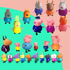 25 Pcs/Set Peppa Pig Family&Friends Rebecca Action Figures Toys Sets Kids Gift