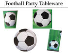 Football Design Tableware - Plates, Napkins, Cups & Tablecover