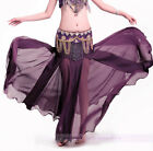 New Sexy Belly Dance Performance Skirt Translucent Fishtail Skirts 11 colors