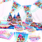 Shimmer and Shine Girls Theme Tableware Favor Kids Birthday Party Supplies Gift
