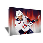 Washington Capitals ALEX OVECHKIN Poster Photo Painting on CANVAS Wall Art Print $48.0 USD on eBay