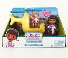Disney Jr. Doc Mcstuffins Rosie Ambulance Lambie Rhonda Helicopter Playsets