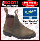 Blundstone 565 CHILDREN'S  BLUNNIES, Rustic Brown. Elastic Sided. Just Like Dad!