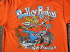 Dudley Perkins Co. Harley-Davidson Hippie Biker T Shirt BRAND NEW $17.0 USD on eBay