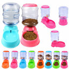HOT Sale! 3.5L Automatic Pet Food Drink Dispenser Dog Cat Feeder Water Bowl Dish