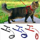 Cat Dog Collar Harness Leash Adjustable Nylon Halter Collar For Pet Harness Belt