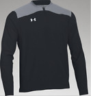 UNDER ARMOUR Mens Triumph Cage 1/4 Zip Pullover  | Black/Gray XL | 1287620 | NWT $29.99 USD on eBay