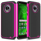 For Motorola Moto G6/G6 Plus Case Hybrid Shockproof TPU Rugged Armor Phone Cover