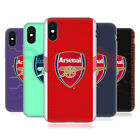 OFFICIAL ARSENAL FC 2018/19 CREST KIT SOFT GEL CASE FOR APPLE iPHONE PHONES